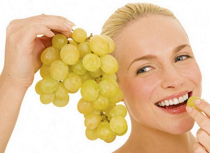 Виноград на голодный желудок