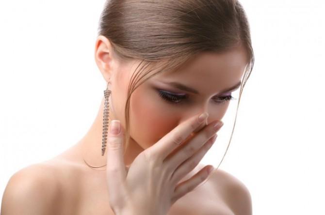 неприятный запах изо рта, отрыжка