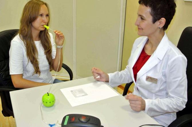 прохождение дыхательного хелик теста