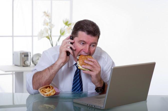 неправильное питание на бегу