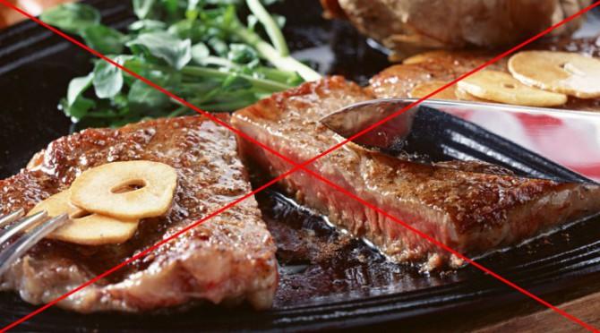 отказ от острой жареной пищи