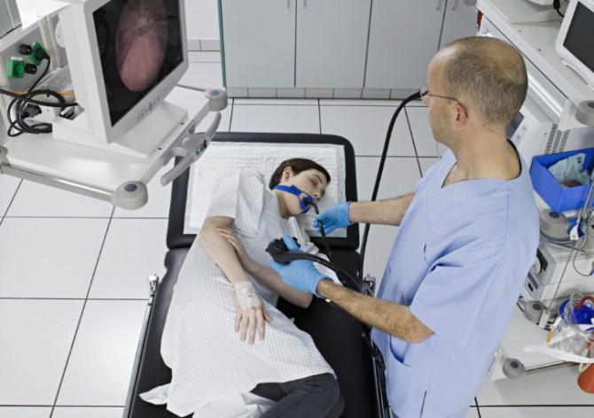 фиброгастроскопия