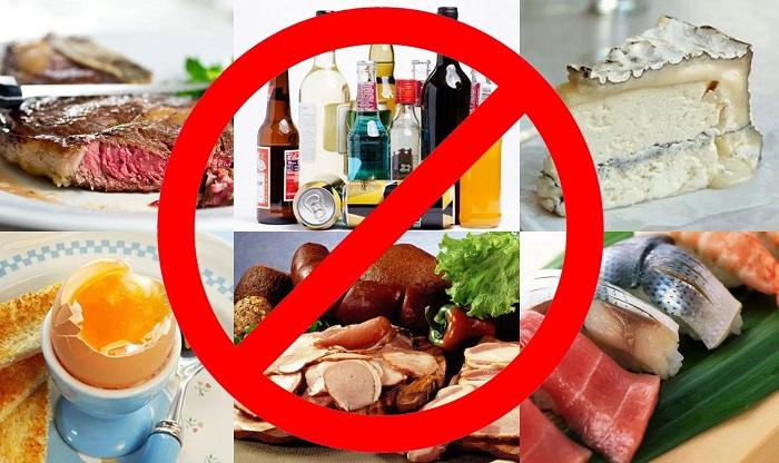 Не стоит есть продукты при хроническом гастрите