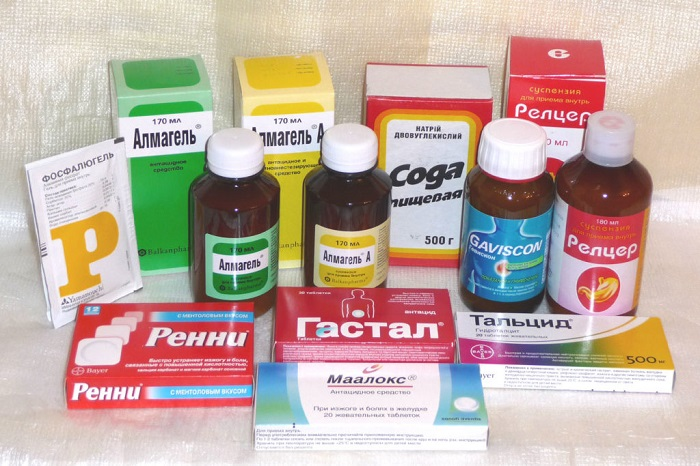 спазмолитики и ферментативные препараты;