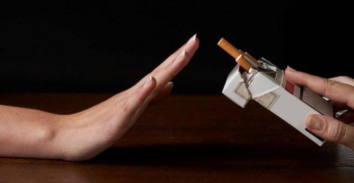 Отказ от никотина