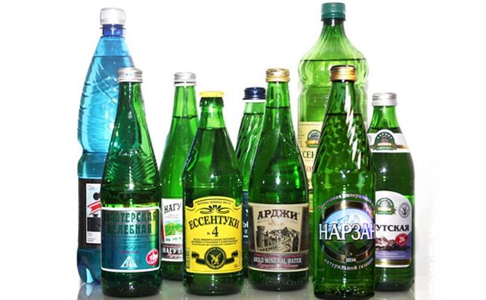 Рекомендованная минеральная вода
