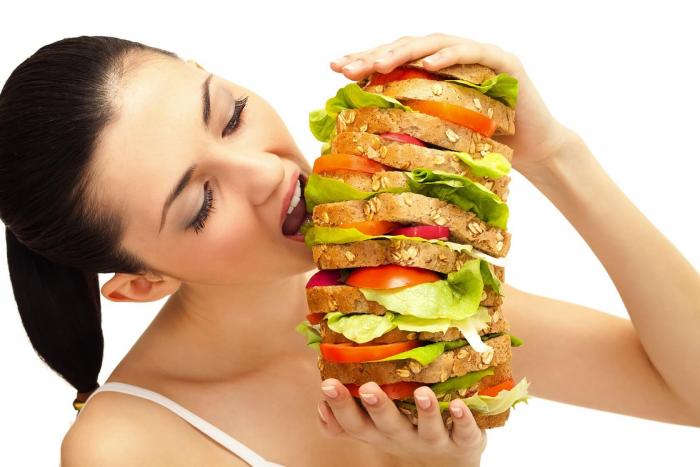 Усиление аппетита