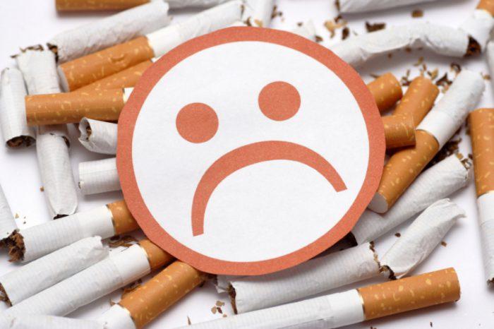 Влияние сигарет на желудок