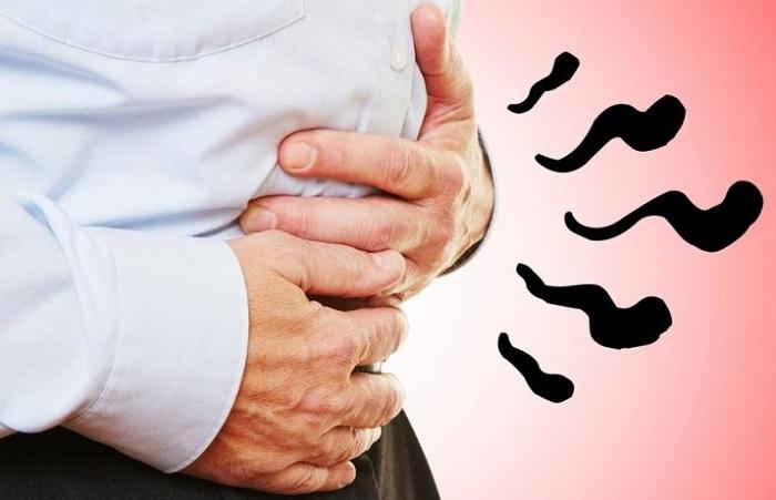газы в желудке