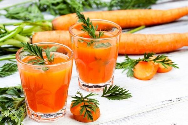 Морковный сок при язве желудка вред