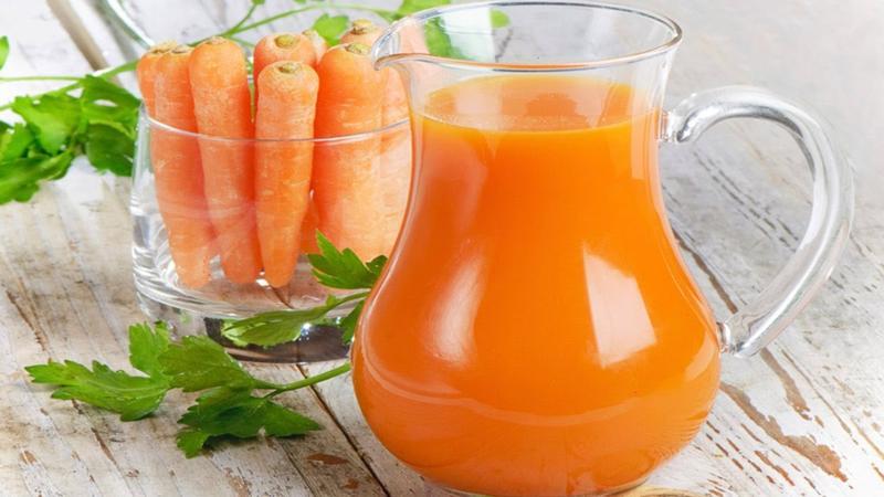 Морковный сок при язве желудка
