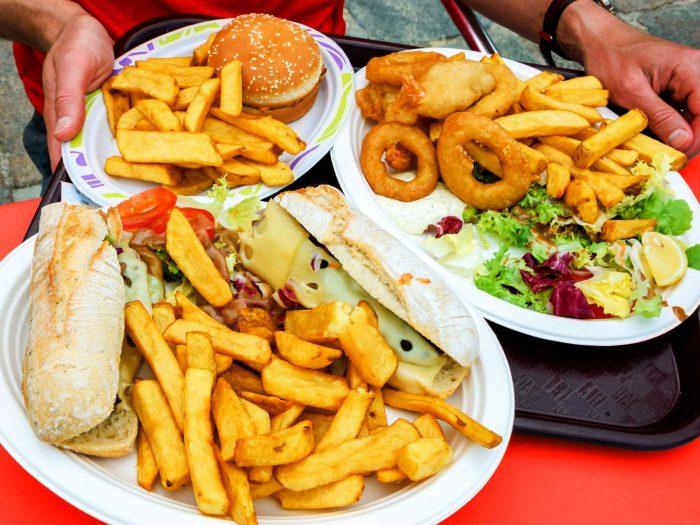 Неправильное и вредное питание
