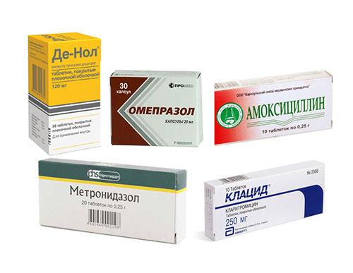 Хеликобактер лечение
