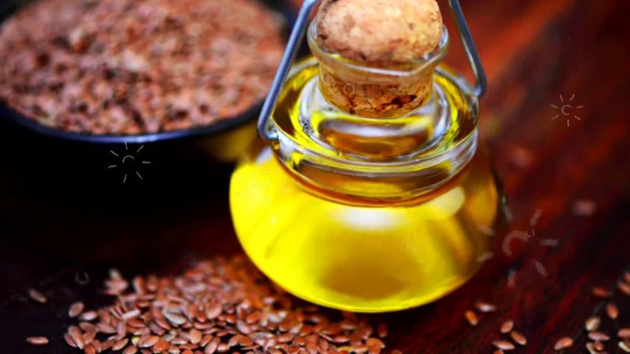 Очистка льняным маслом