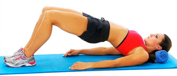 Упражнения для лечения опущения желудка