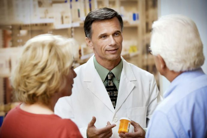 врач рекомендует лекарство