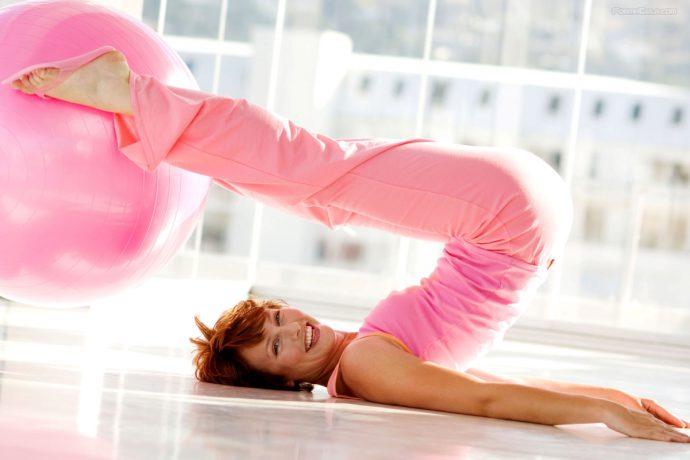 упражнения при опущении желудка