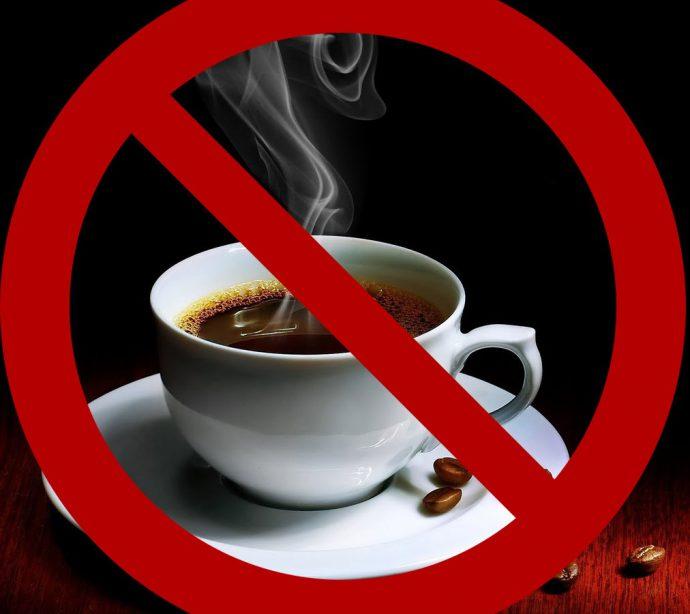 крепкий кофе нельзя