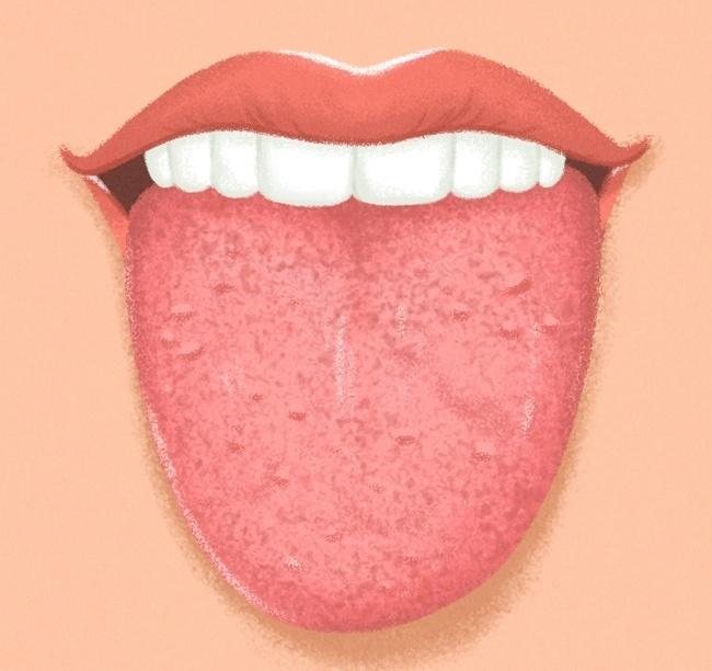 белый язык и запах изо рта