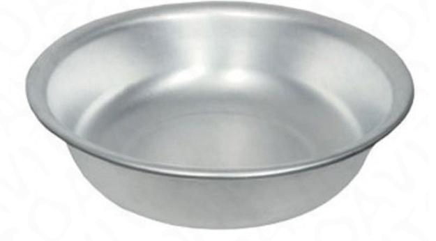 алюминиевая тарелка