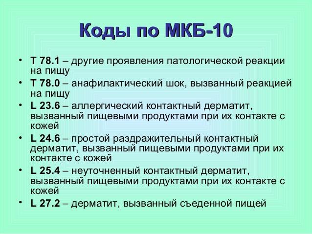 кодировка по мкб 10