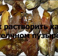 рецепты при камни в желочи