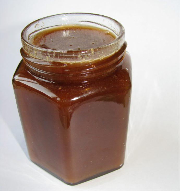 Гречишный мед в баночке