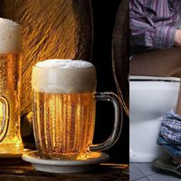 После пива появляется понос: причины и методы устранения симптома