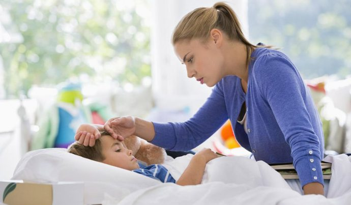 рвота и понос с температурой  у ребенка