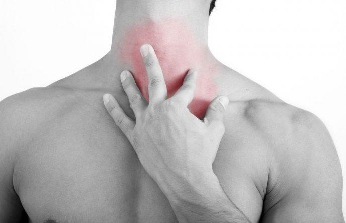 боль в пищеводе отдает в шею