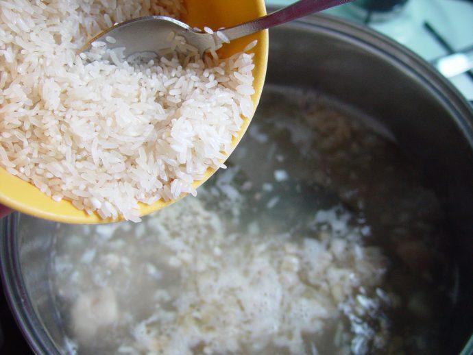 Отвар риса