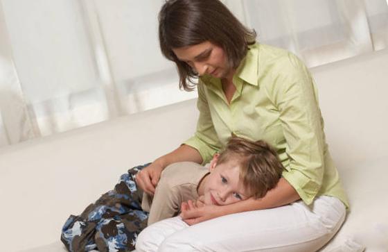 Развитие болезни у детей