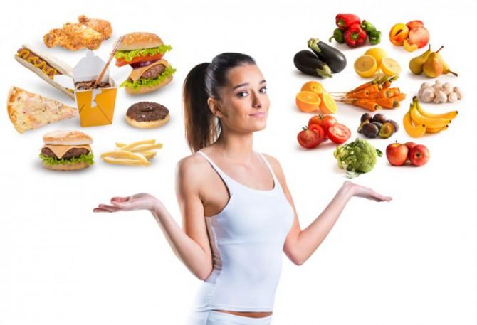 выбираем здоровое питание или фастфуд