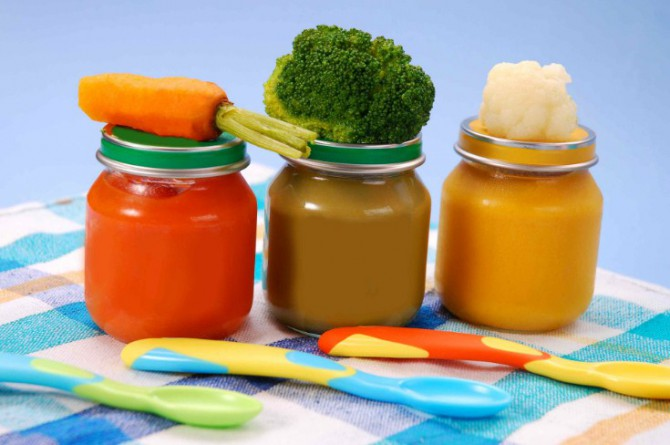 овощные пюре