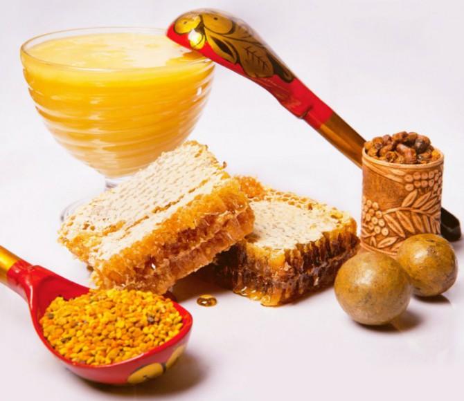 прополис с медом