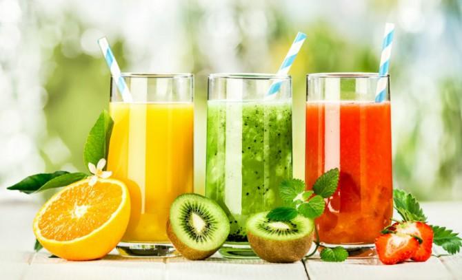 фрукты, соки
