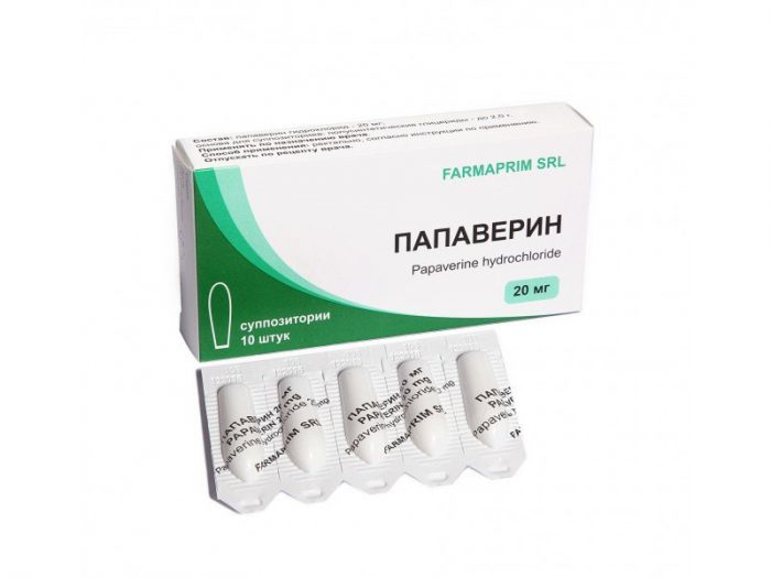 Прием обезболивающих и спазмолитических препаратов