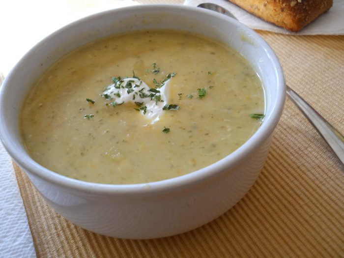 Суп с отрубями