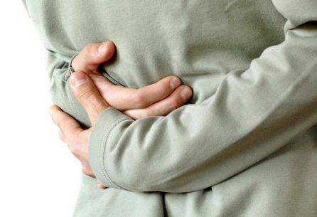выпирание желудка