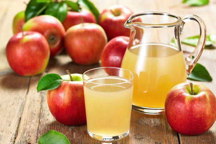 яблочный кисель