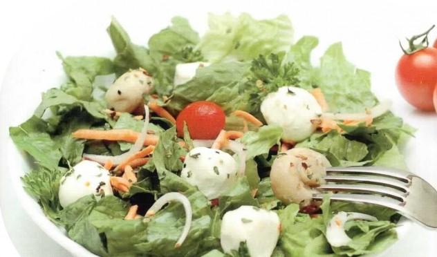 Разрешенные салаты при гастрите