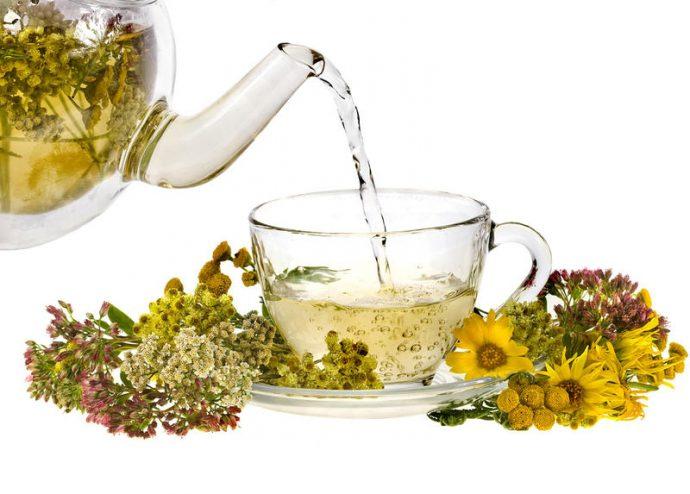травяной чай при гастрите