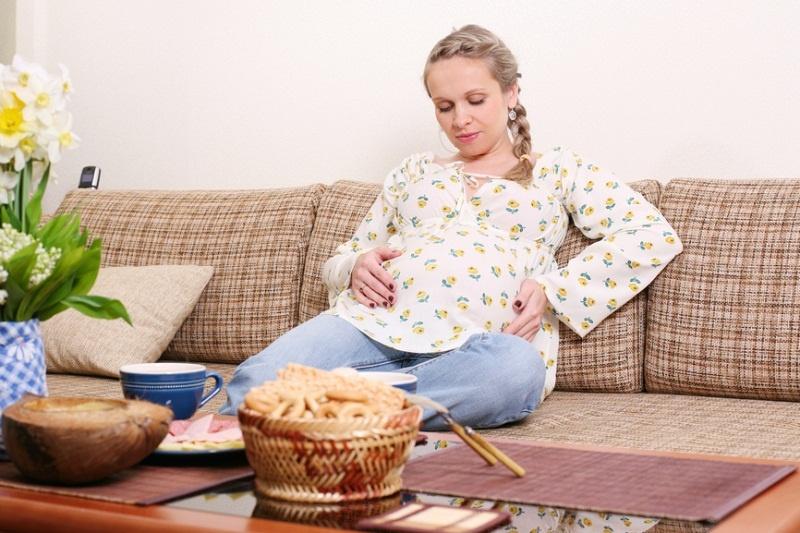 тяжесть после еды при беременности