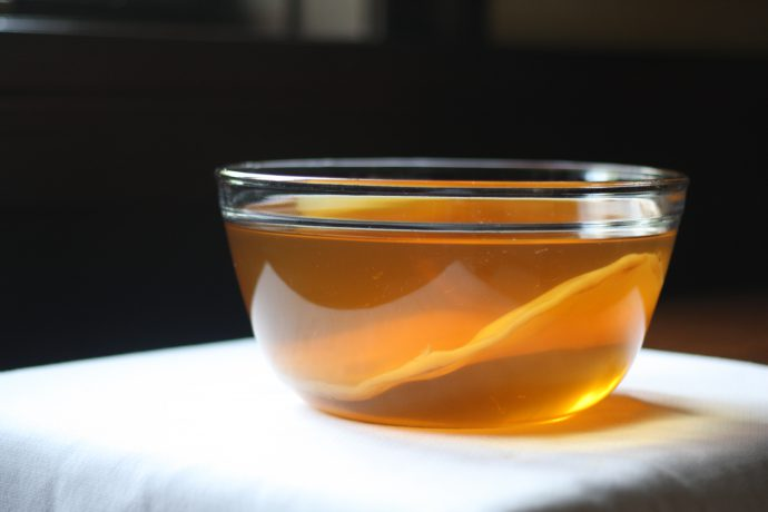 чайный гриб на основе чая