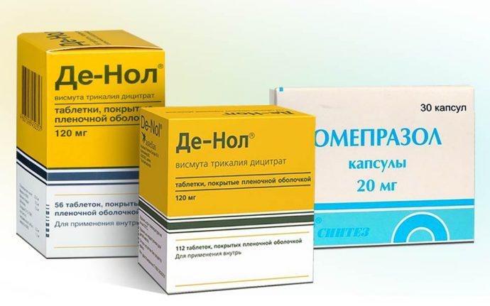 Денол с другими препаратами