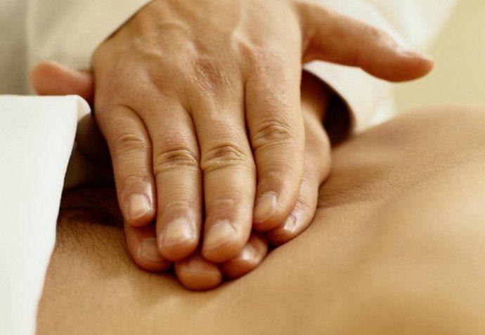 массаж желудка
