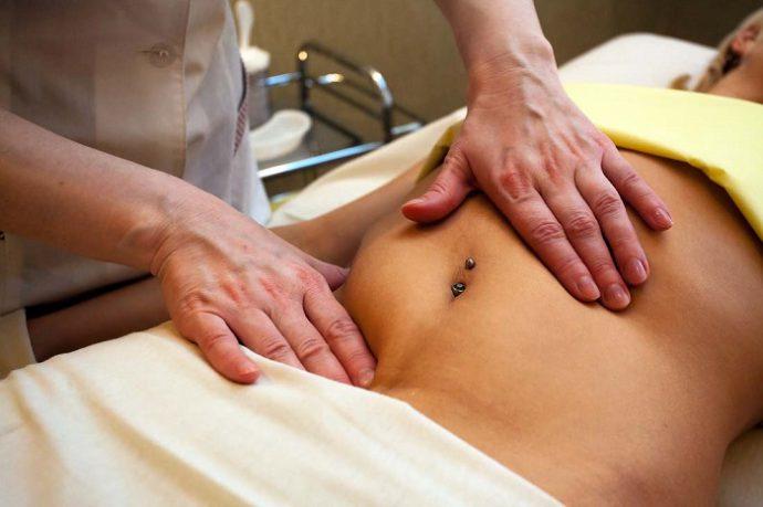 польза массажа желудка