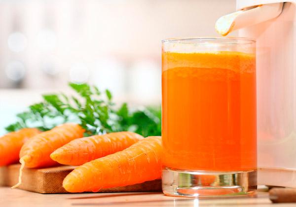 Морковный сок при язве желудка польза