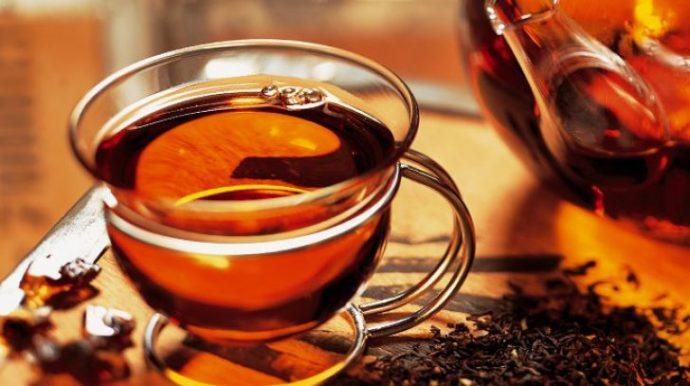 польза чая при гастрите
