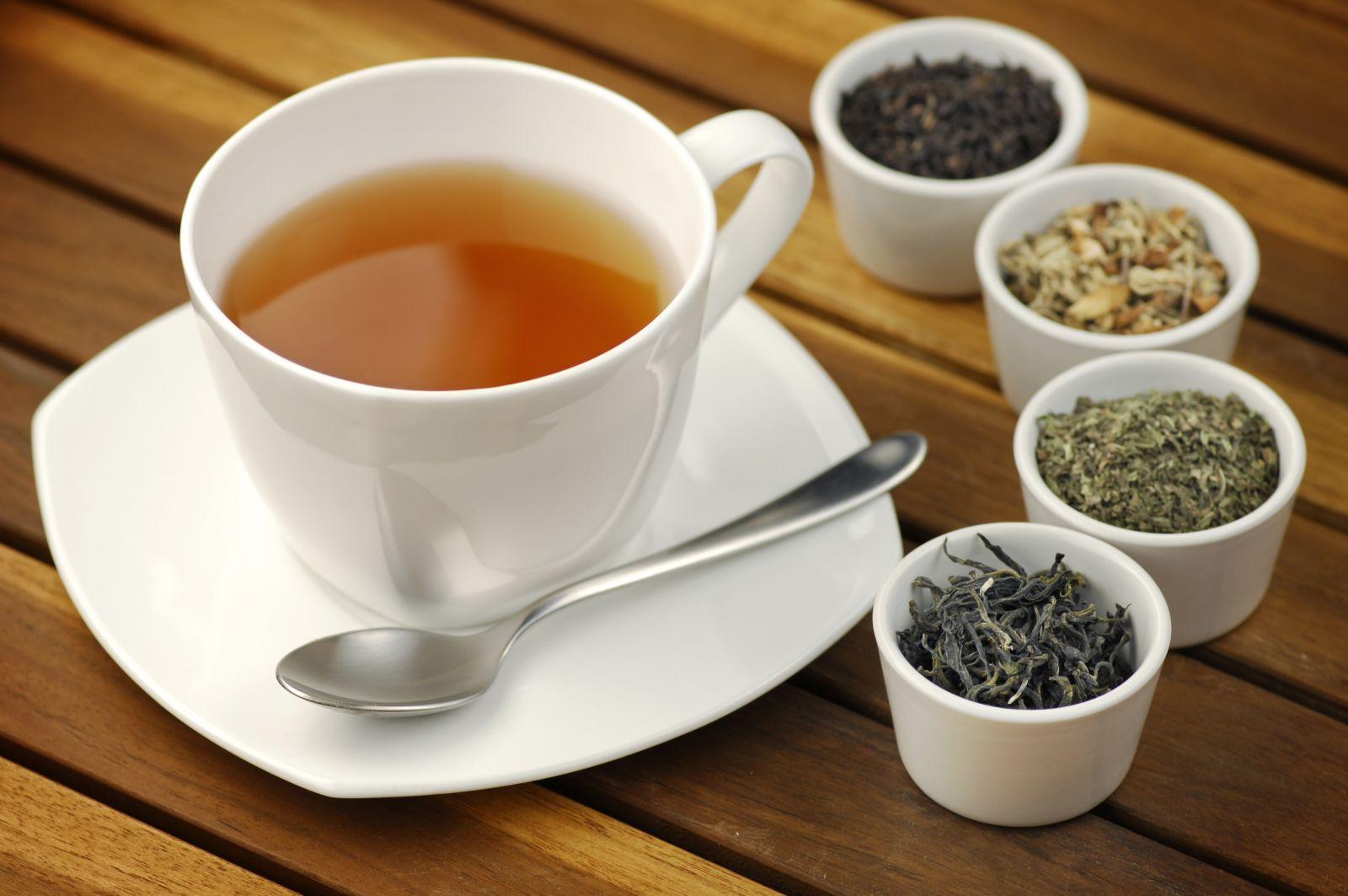 Разные сорта чая при гастрите